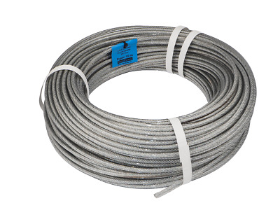 many sizes avaliable 6 clips many sizes avaliable 2 turnbuckles eye-hook M4 SET 20m wire rope stainless steel strand:7x7 3mm