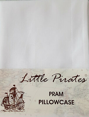 BRAND NEW BABY PRAM/COTBED PILLOWCASE 100%  Luxury Brushed COTTON