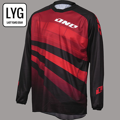 One Industries Jersey Shaka Red/black - Motocross Mtb Mx Bike Cycle - Large