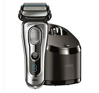 Braun Series 9-9095cc Men's Wet and Dry Shaver with Clean and Renew Charger