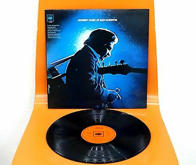 Original MINT 1969 Johnny Cash ‎At San Quentin Vinyl LP A2/B1 LAMINATED