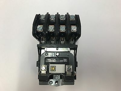 8903LO40V02 4 POLE / 120V COIL OPEN Elec Held Lght Contact SQ D  New in the box