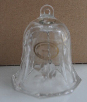 Crystal  Bell Hungarian Made Christmas Tree Ornament