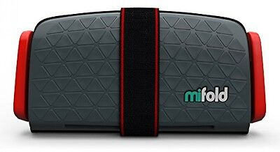 mifold Grab-and-Go Car Booster Seat Slate Grey Compact And Portable Booster Seat