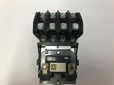 8903LO40V08 4 POLE / 208V COIL OPEN Elec Held Lght Contact SQ D  New in the box