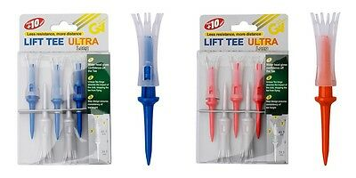 Lift Tee Ultra 3in Klapp Schritt-golf Tee