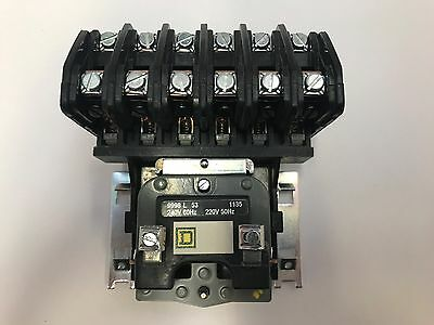 8903LO60V03 6 POLE / 240V COIL OPEN Elec Held Lght Contact SQ D  New in the box