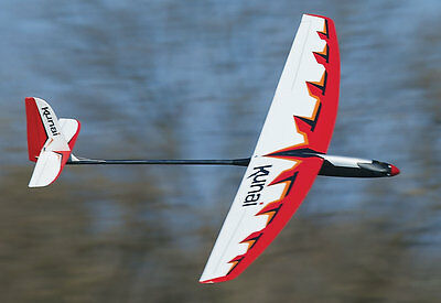 Great Planes Kunai 1.4m Electric ARF Glider Kit GPMA1815 (includes brushless mot