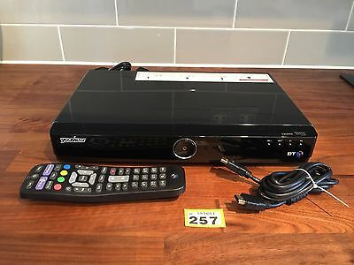 Humax Dtr T1000 Bt Set Top Recorder Twin Tuner Hd Freeview 500Gb 257