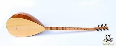 Turkish Long Neck Cherry Baglama Saz For Sale Csl-109