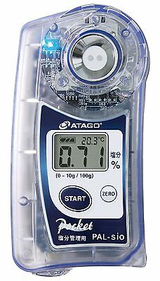 New! ATAGO Digital Hand-Held Pocket Refractometer PAL-sio from Japan Import!