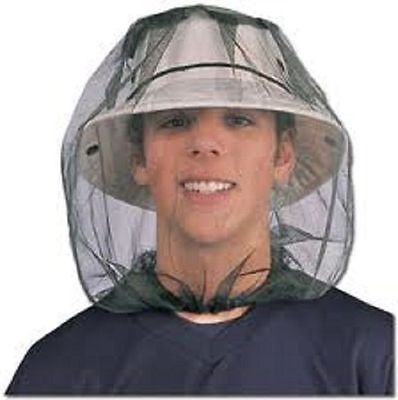 Mosquito Insect Midge Flies Bug Mesh Head Net Face Protector Travel Camping