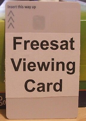 Pre Activated White Freesat Viewing Card