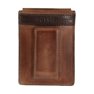 Fossil Quinn Magnetic Brown Card Case ML3676