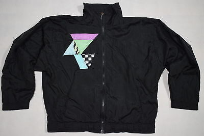 Sergio Tacchni Trainings Jacke Track Top Vintage Party Nylon 80s 90s Vintage  38