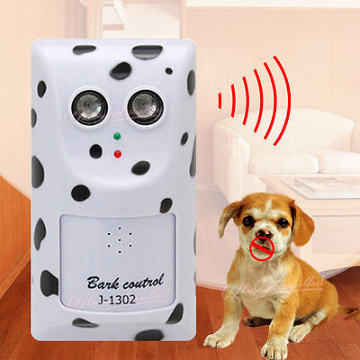 Ultrasonic Bark Control Anti Bark Deterrent Stop Dog Barking Silencer Device