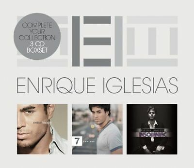 Enrique Iglesias - Triple Pack NEW 3 x CD