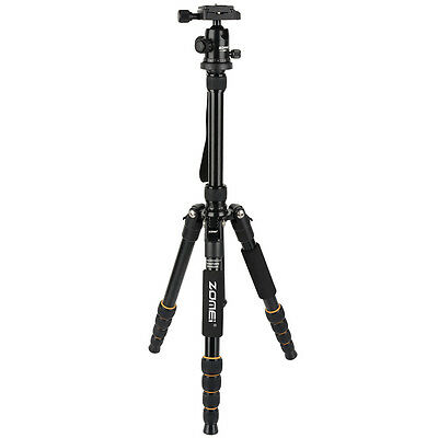 AF ZOMEi Q666 Portable Tripod Ball Head for DSLR Camera