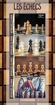 Z08 Imperforated NIG16204a NIGER 2016 Chess MNH