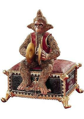 "Phantom of the Opera - Monkey Music Box NEW - Plays ""Masquarade"" FREE Shipping"