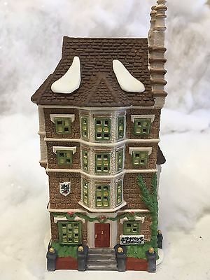 Dept 56 The Heritage Village Collection: Nephew Fred's Flat Dickens Village