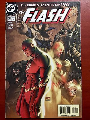 The Flash #210 ~ Nm+ (9.6) ~ Awesome Turner Cover! ~ Reverse Flash ~ Rogues