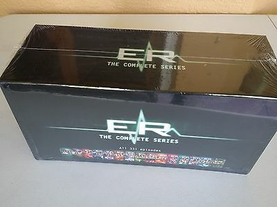 ER Complete Series ~ Season 1-15, BOX SET, DVD FORMAT, FREE SHIPPING, NEW.