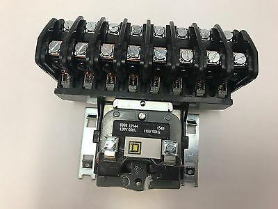 8903LO80V02 8 POLE / 120V COIL OPEN Elec Held Lght Contact SQ D  New in the box