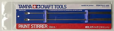 Tamiya 74017 Craft Tools Paint Stirrer (2) NIP