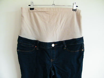 Jeanswest maternity pregnancy jeans - dark denim skinny size 10