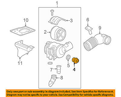 GM OEM Air Cleaner Intake-Filter Flow Restriction Indicator 25342295
