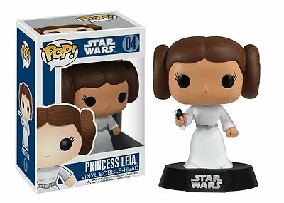 Funko Pop Star Wars Princess Leia #04 Vinyl Figure Collectible - In stock