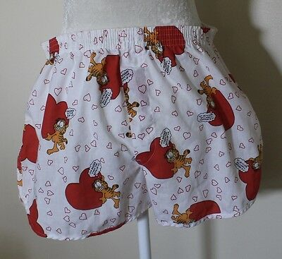 Vintage Garfield Valentines Day Boxers 1978 Size 38 L XL Funny