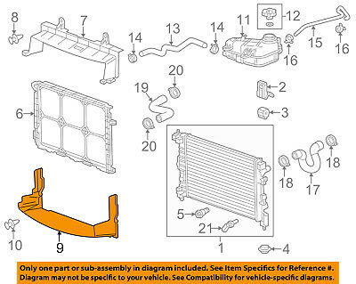 Chevrolet GM OEM 12-18 Sonic Rear Bumper-Outer Support Right 95936815