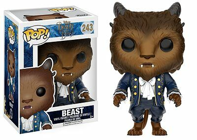 Funko Pop Disney Beauty and the Beast Beast Vinyl Figure Toy #243