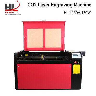 RECI 100W Laser Cutter Engraving Machine Linear Guide/Auto Focus/CW-5000 Chiller