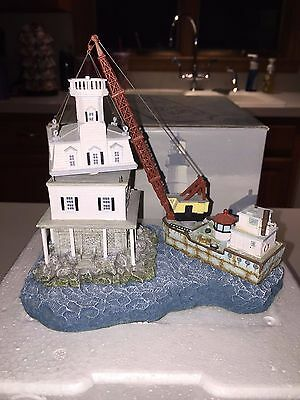 2001 Harbour Lights Long Beach Bar NY #262 Signed Limited Ed. #2763 COA in Box