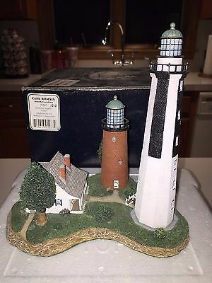 2002 Harbour Lights Cape Romain SC #283 Signed Limited Ed. #1510 COA in Box