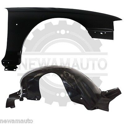 Partslink Number FO1250111 OE Replacement Ford Mustang Front Driver Side Fender Splash Shield