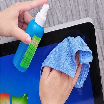 New 3 in 1 Screen Cleaning Kit  Cleaner For TV LCD LED PC Monitor Laptops Tablet