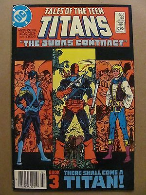 Tales of the New Teen Titans #44 DC 1st Nightwing $0.95 Canadian Variant 9.2 NM-