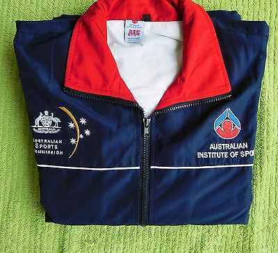 Genuine Australian Institute Of Sport Lined Jacket Brand new. size Large FREE PO