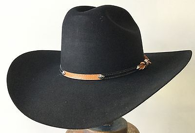 Stetson 100% Wool classic western traditional cowboy Taxes Top class hat Outback
