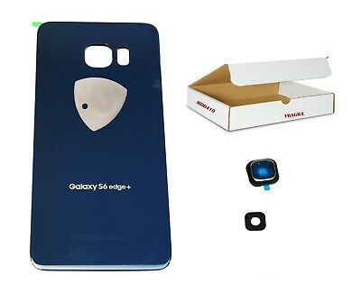 Black Sapphire back glass camera lens cover replacement Fit Galaxy S6 EDGE PLUS