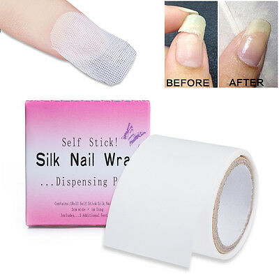 Nail Care Fiberglass Silk Nail Wrap Stickers Extension Nail Art Manicure Tools