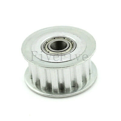 XL 15T 1/5'' Pitch 3/4/5/6/7/8/9mm Bore Timing Belt Idler Pulley With Bearing