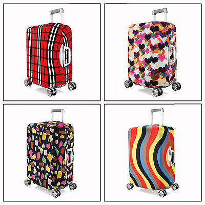 M ~ Elastic Luggage Suitcase Spandex Dust-proof Cover Protector For 22''~ 24""
