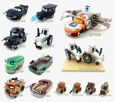 Disney Pixar Star Wars McQueen & Mater 1:55 Toy Cars Loose New In Stock