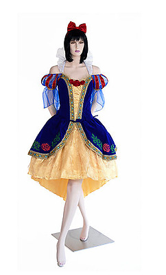 Disney Adult Princess Deluxe Snow White Costume By Leg Ave Medium