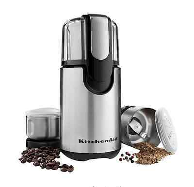 Electric Coffee Bean Spice Grinder Automatic Stainless Steel Blades Grind Mill